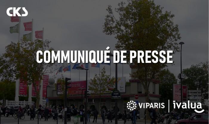Communiqué de presse - Viparis optimise ses processus Achats grâce à la solution Ivalua et à l'accompagnement de CKS