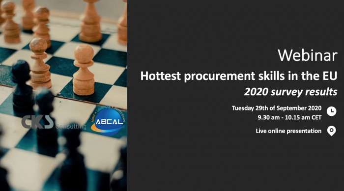2020 Hottest procurement skills in the EU
