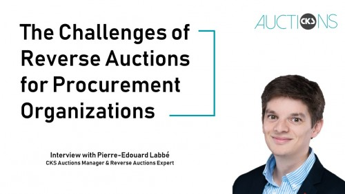 The Challenge of Reverse Auctions: Interview with Pierre-Édouard Labbé