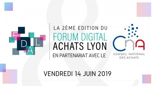 Participation au « Forum Digital Achats » 2019 à Lyon