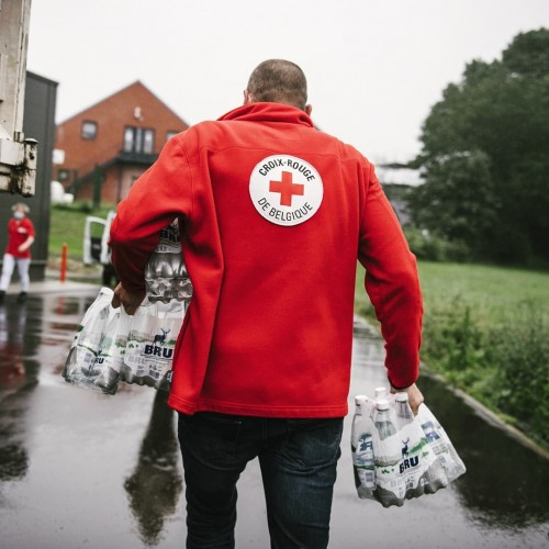 Inondations : CKS Benelux apporte sa contribution à la Croix-Rouge de Belgique